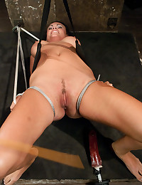 Hot chick bondage and toys