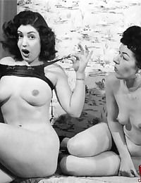 Hot and vintage cute naked ladies pictures