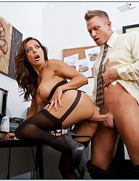 Big cock in the office