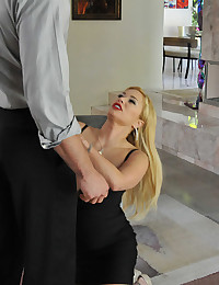 Very Busty Blonde Shyla Gets Anal Drilled