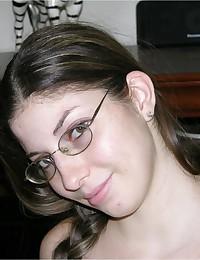 Tatiana Wearing Glasses