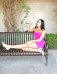 Cierra Spice - That pink dress is the hottest thing you've ever seen