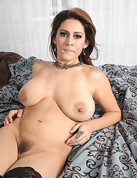 Horny Raylene In Hot Lingerie