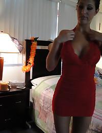 Kourtney K fucked on homemade webcam