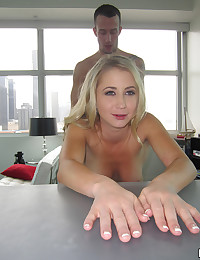 Luscious Blonde Mandy Wants Cock
