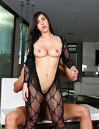 Round Assed Valerie Gets Jizzed On
