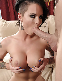 Heavily Tattooed Christy Gets Facial