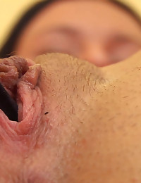 Julie Flexes her Pussy Muscles to Squeeze her Panties In and Out of her Vagina! Julie