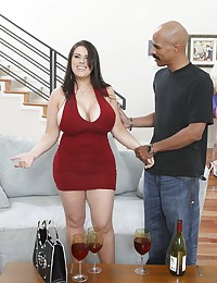 Plump Daphne Indulges In Interracial Affair