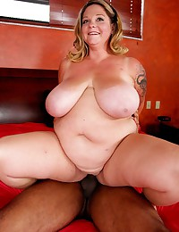 BBW loves big black cock
