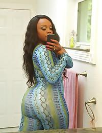 Ebony Minx Jayden Gets Ravaged Raw