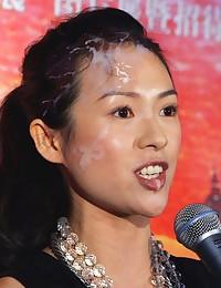 A lot of hot facials photos of Zhang Ziyi and even more!