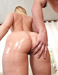 Lustful Kaylee Gets Oiled Then Drilled