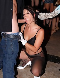 Tipsy Babes Fucked At The Club