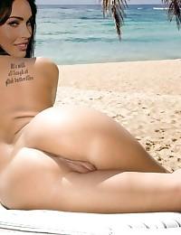 Look at how Megan Fox ejaculates