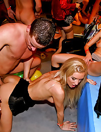 Attend a wild sex party