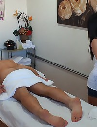 Check out super cute hot ass asian get fucked in these real hidden camera massage parlor fuck pics