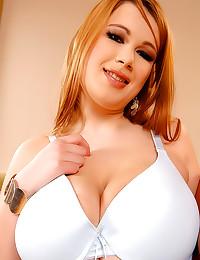 Huge tits chubby chicks fool around
