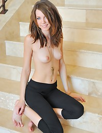 Alie takes all her clothes off for FTV Girls.