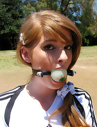 Redhead teen bondage sex