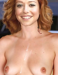 With such great boobs Alyson Hannigan will always find a guy for fuck!