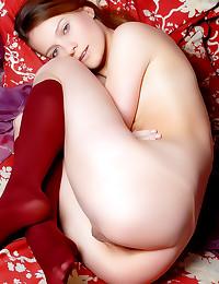 Blue eyes girl erotic solos