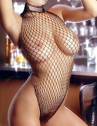 Take a look at Jeri Ryan's tits - no wonder