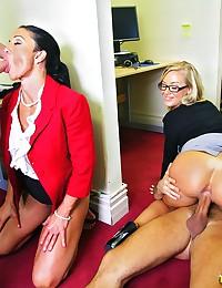 Fat cock in skinny slut