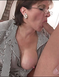 British milf gets cumload on tits