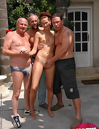 Double penetration sex pics