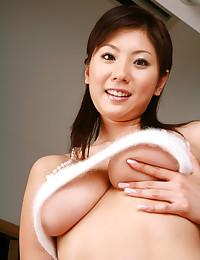 Big boobs Japanese model