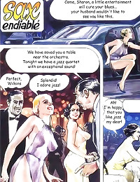 Great art in sexy comic