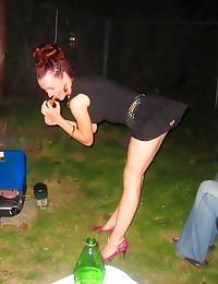 Drunk chicks get rowdy