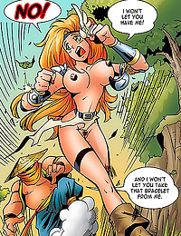 Big tits redhead naked comics...