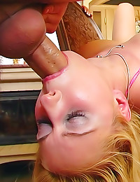 Milk enema and a creampie