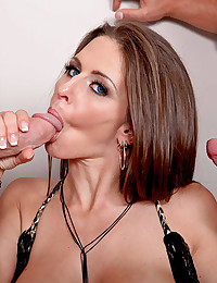 Rachel Roxx Enjoys Two Hard Cocks