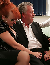 Female interviewers laugh and humiliate male model for having a small cock