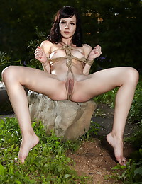 Jasmine takes all her clothes off for Sinful Goddesses.