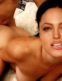 Angelina Jolie has a beautiful lips... and very beautiful pussy!