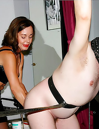 Chubby guy dominated by milf