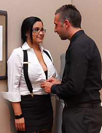 Fat cock office fuck