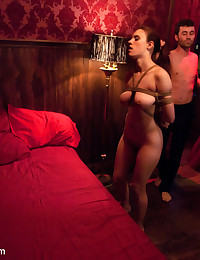 Iona Grace dominated, bound and fucked by shady club owner.
