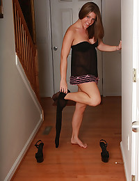 Pretty pantyhose and lingerie