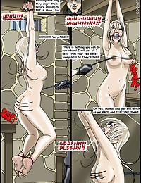 Kidnapped slavegirls victims of their evil captors