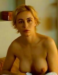 Emmanuelle Beart nude and bea...
