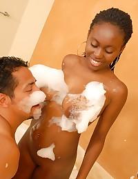 Ebony Minx Kesha Soaped Then Banged