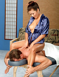 Steamy Hot Asian body Massage