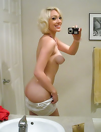 Blonde self shots and hardcor...