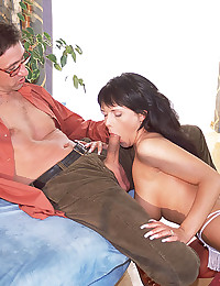 Big cock foursome with sluts