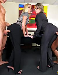 Hot office orgies